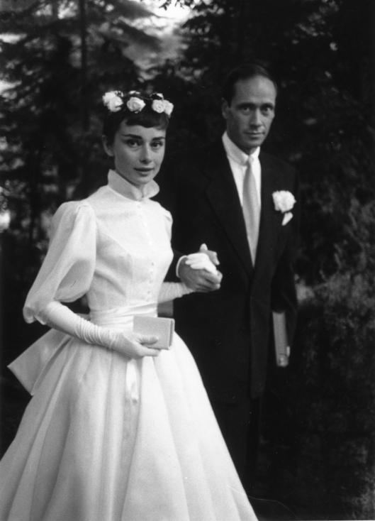 Wedding dress Audrey Hepburn - Balmain
