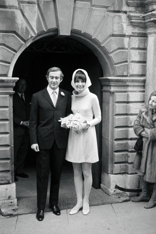Wedding Audrey Hepburn and Andrea Dotti - Givenchy (1969)