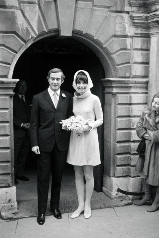 Wedding Audrey Hepburn and Andrea Dotti - Givenchy (1969)