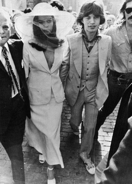 Wedding dress Bianca Jagger - Yves Saint Laurent