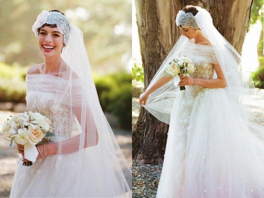 Boda Anne Hathaway - Valentino (2012) 2