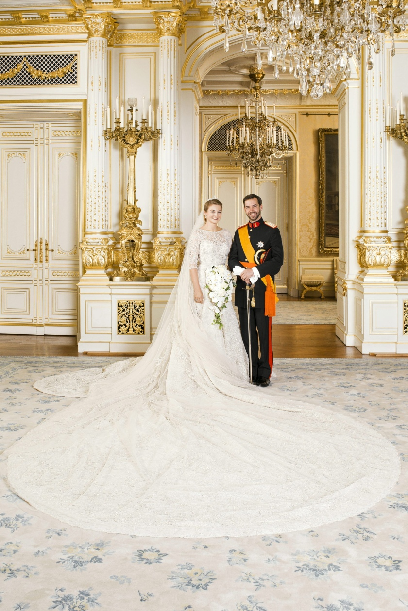 Wedding of Prince Guillaume and Princess Stephanie, Prinsesse Stephanie