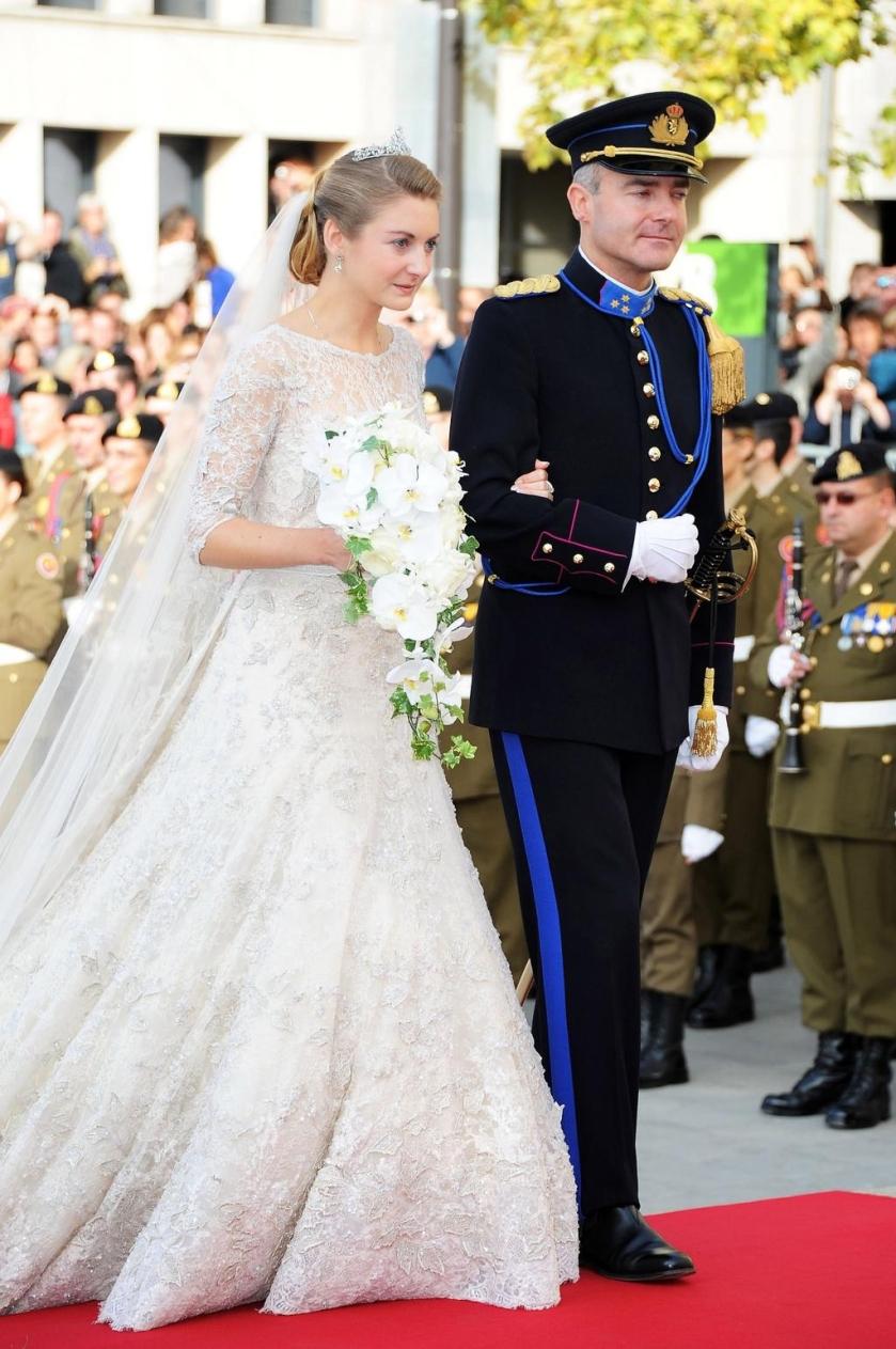 Boda de los principes de Luxemburgo - Condesa Stéphanie de Lannoy - Elie Saab (2012) 2