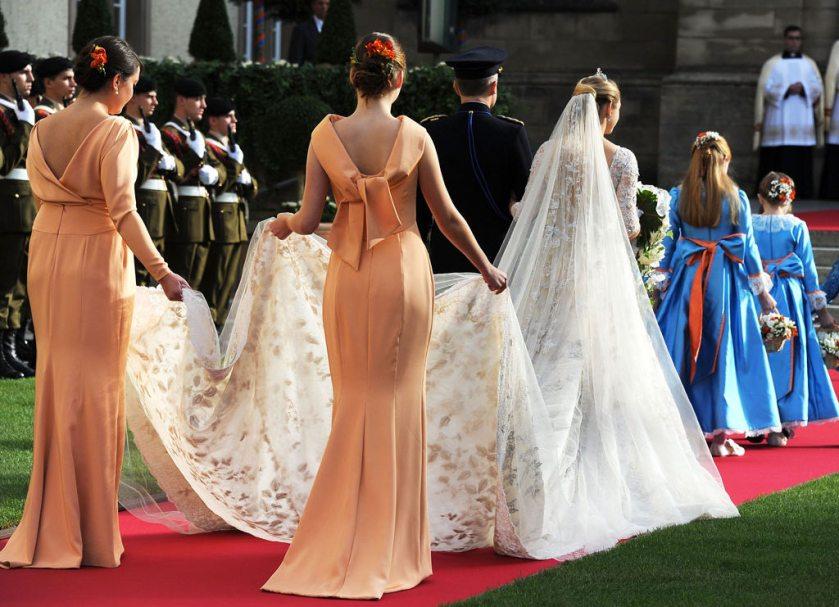 Boda de los principes de Luxemburgo - Condesa Stéphanie de Lannoy - Elie Saab (2012) 4