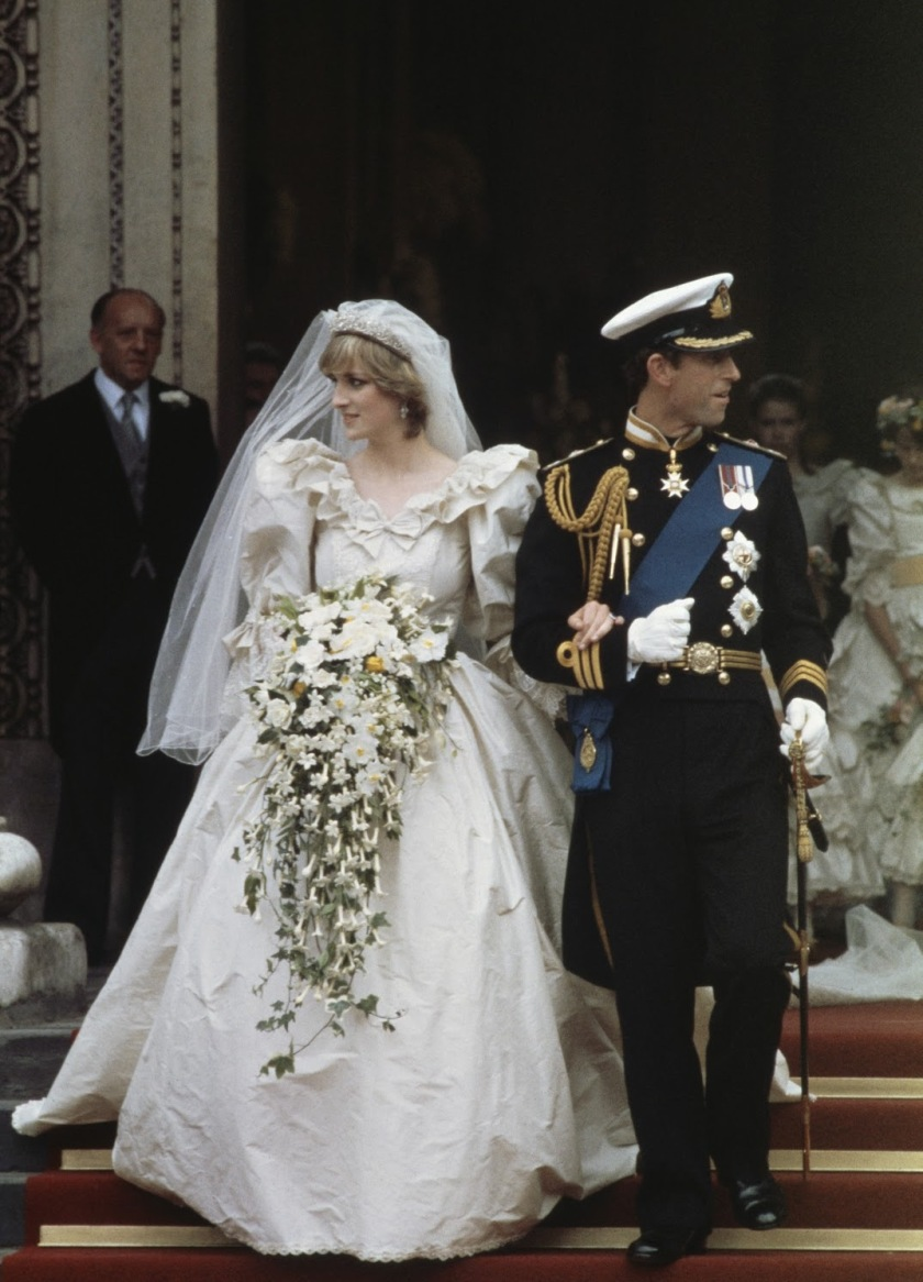 Wedding Diana Spencer and Charles, Prince of Wales - David and Elizabeth Emanuel (1981)