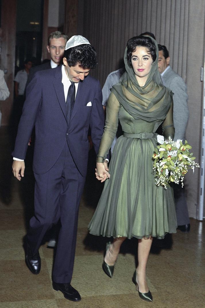 Wedding Elizabeth Taylor and Eddie Fisher (1959)
