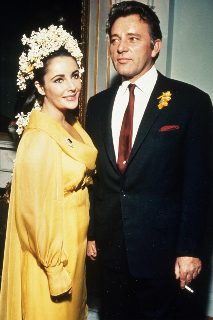 Wedding Elizabeth Taylor and Richard Burton (1964)