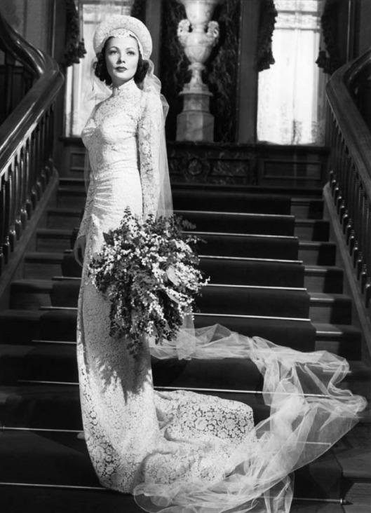 Wedding Gene Tierney - Oleg Cassini (1941)