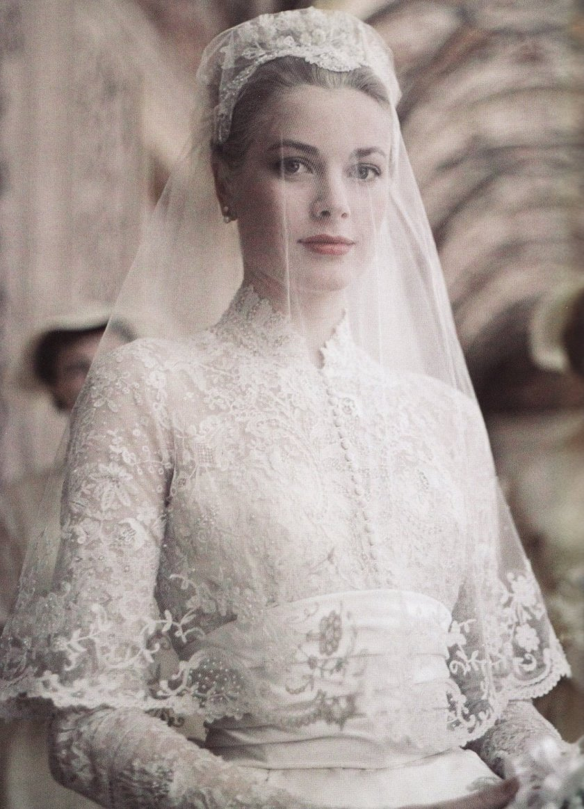 Wedding Grace Kelly - Helen Rose (1956)