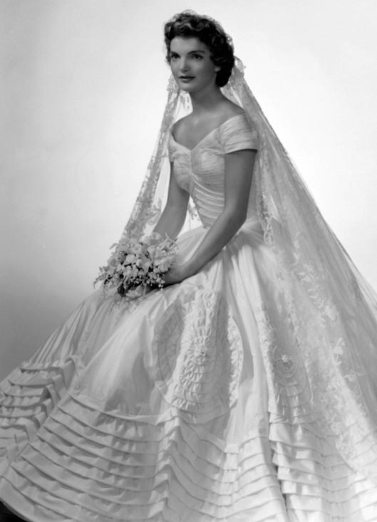 Wedding dress Jacqueline Kennedy - Ann Lowe (1952)