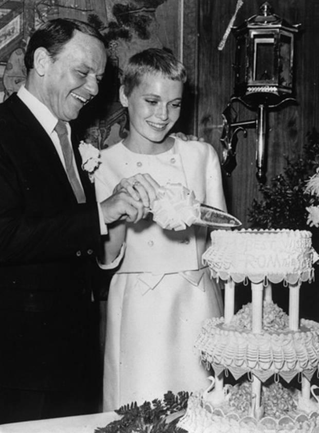 Wedding Mia Farrow and Frank Sinatra (1966)