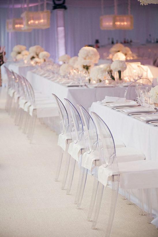 Silla Louis Ghost 10 - Banquete boda