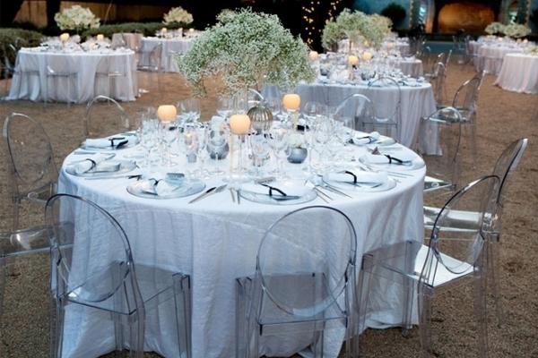 Silla Louis Ghost 15 - Banquete boda
