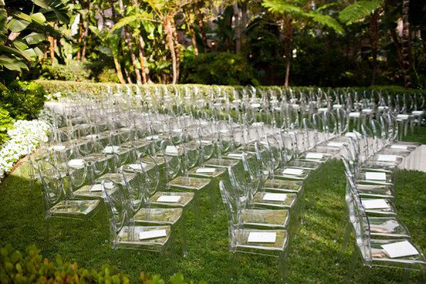 Silla Louis Ghost 4 - Ceremonia boda