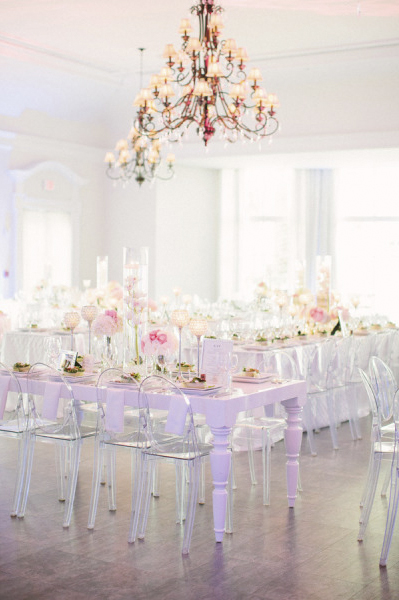 Silla Louis Ghost 7 - Banquete boda