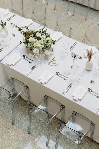 Silla Louis Ghost 8 - Banquete boda