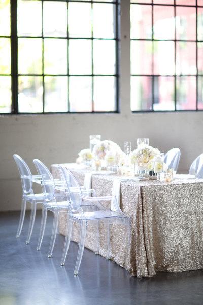 Silla Louis Ghost 9 - Banquete boda