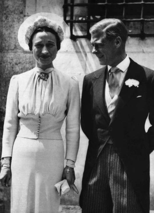 Wedding Wallis Simpson - Mainbocher (1937)