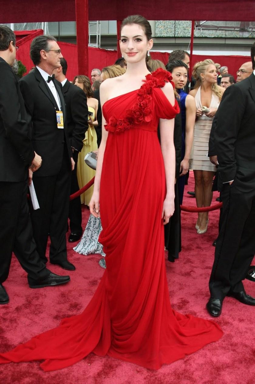 Anne Hathaway - Marchesa - Oscars 2008