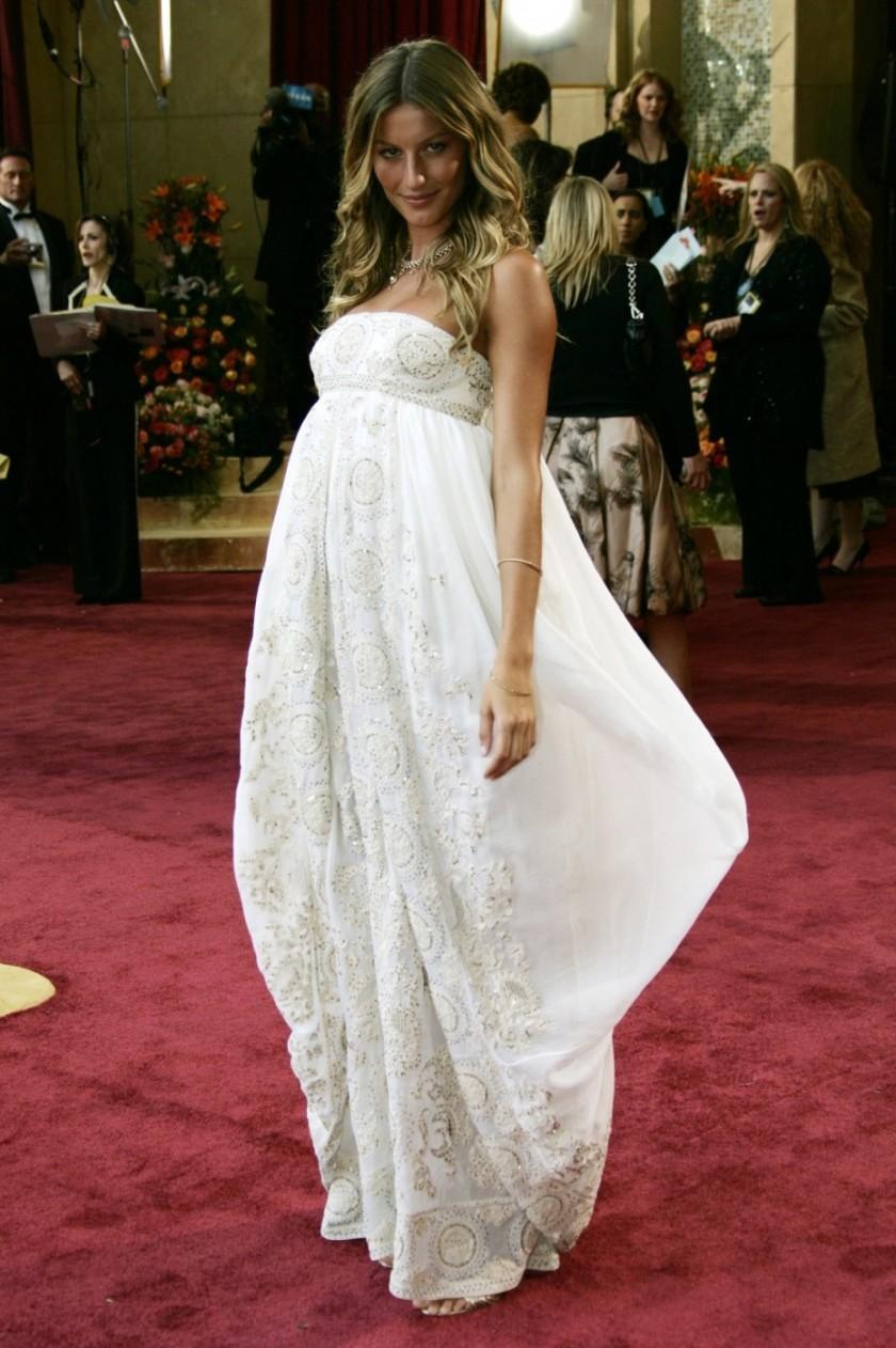 Gisele Bundchen - Dior - Oscars 2005