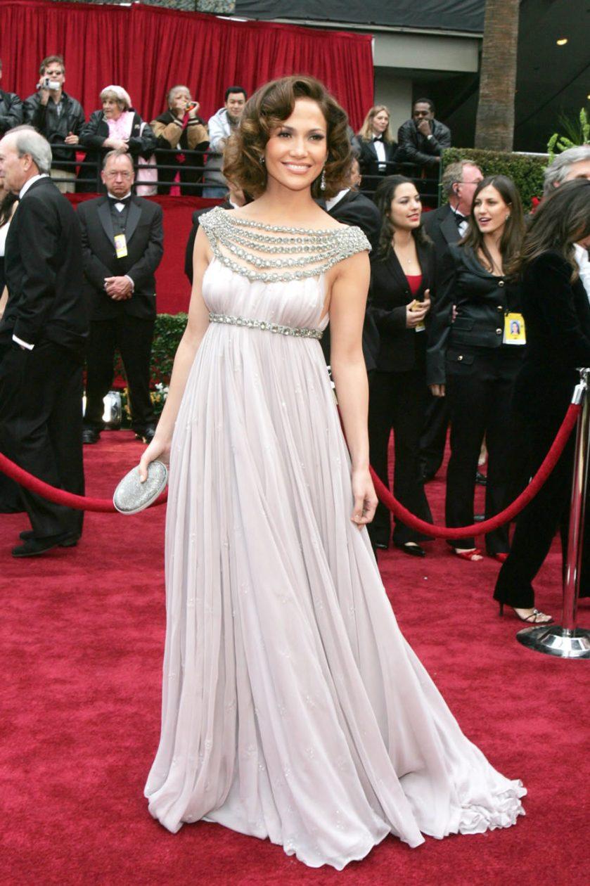 Jennifer Lopez - Marchesa - Oscars 2007