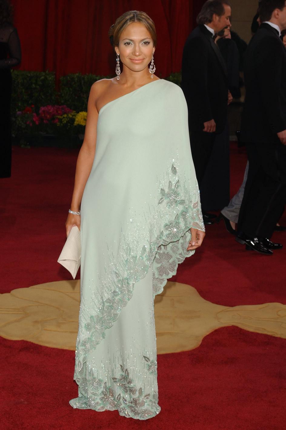 vestido jennifer lopez 2003: