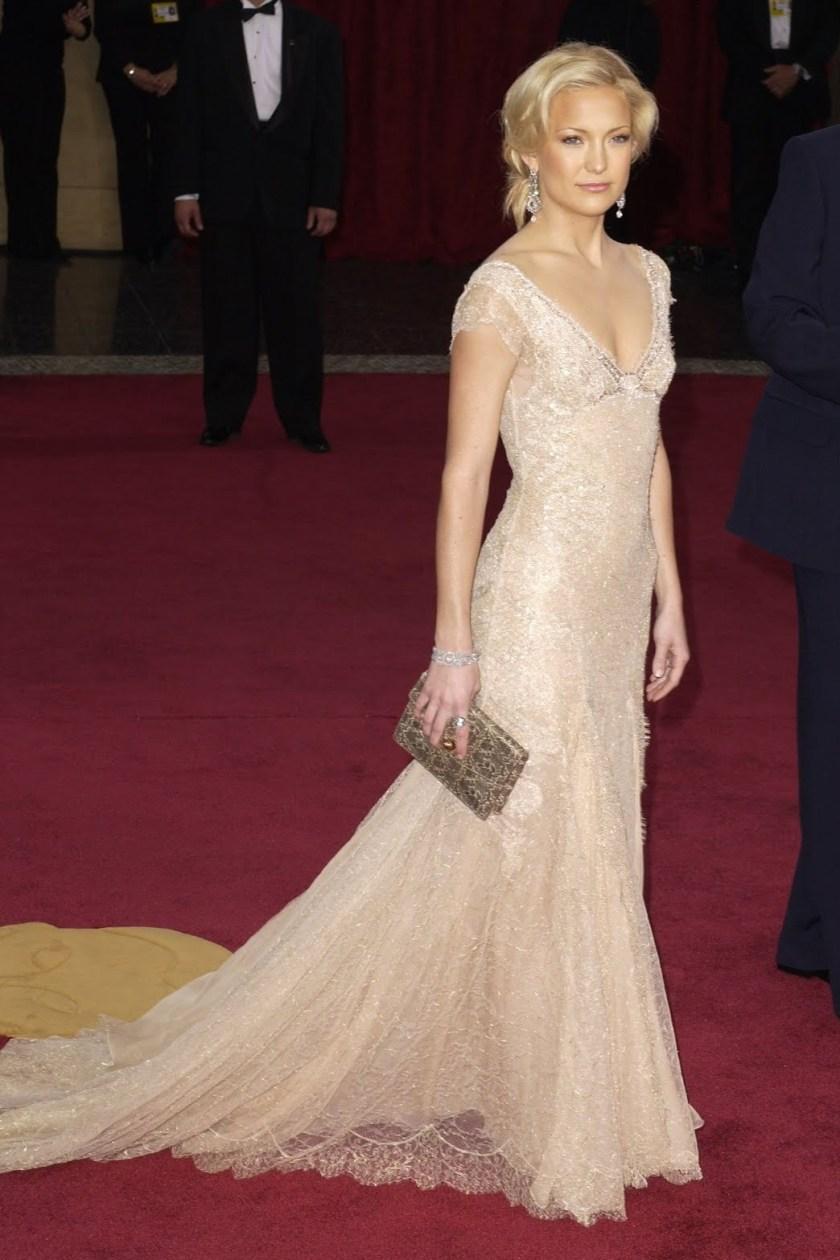 Kate Hudson - Versace - Oscars 2003