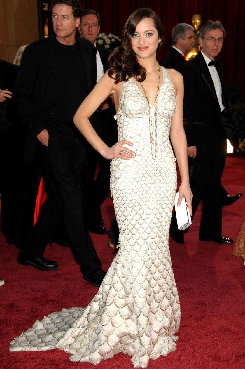Marion Cotillard - Jean Paul Gaultier - Oscars 2008