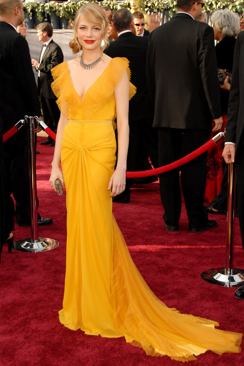 Michelle Williams - Vera Wang - Oscars 2006