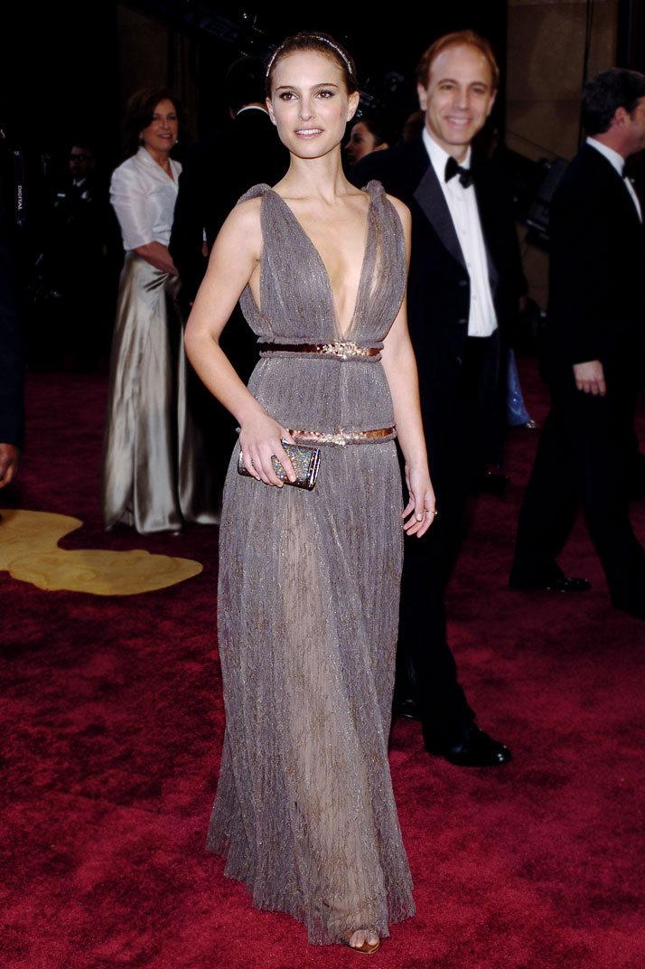 Natalie Portman arrives.