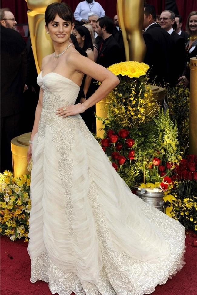 Penelope Cruz - Balmain vintage - Oscars 2009 2