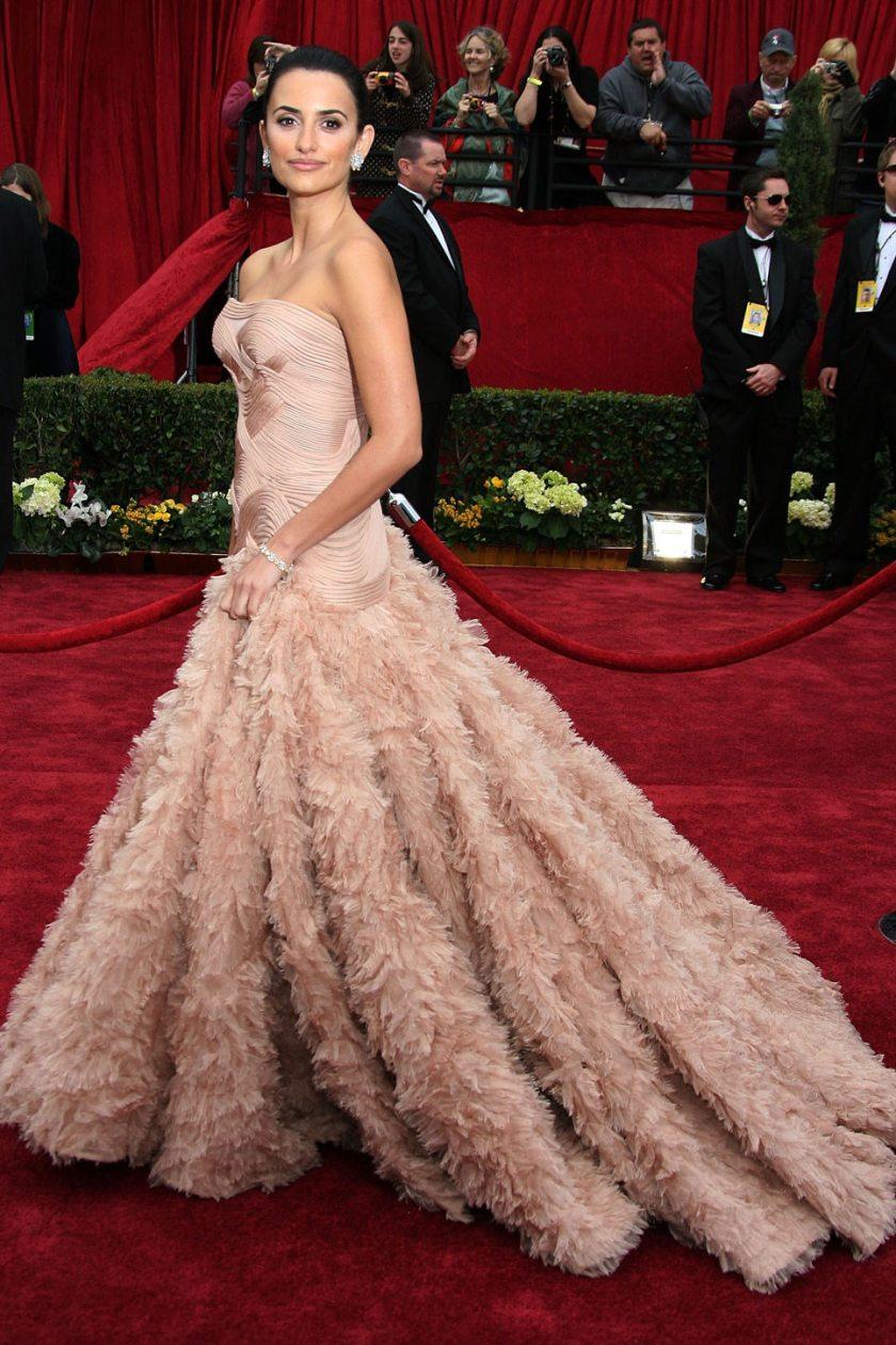 Penelope Cruz - Versace - Oscars 2007