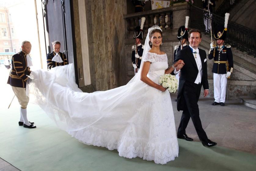 Boda Magdalena de Suecia - Valentino 2