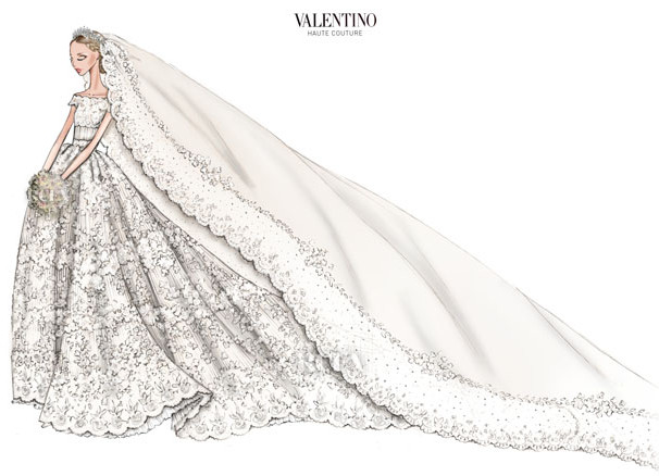 Boda Magdalena de Suecia - Valentino 3