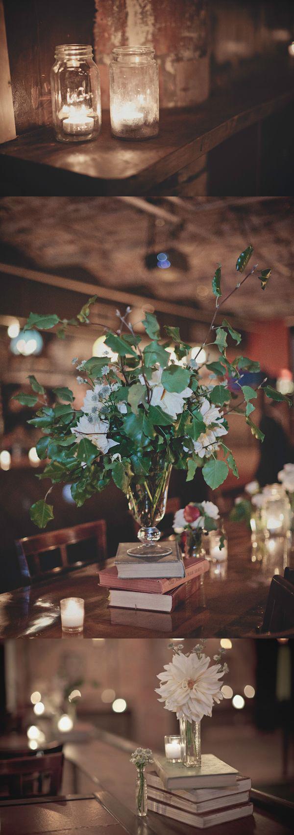Una boda de invierno en Brooklyn - Flores