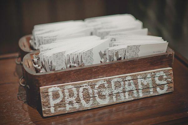 Una boda de invierno en Brooklyn - Programas