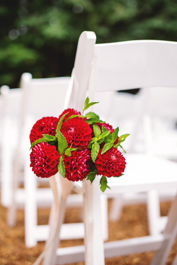Boda en rojo pasión - Ceremonia