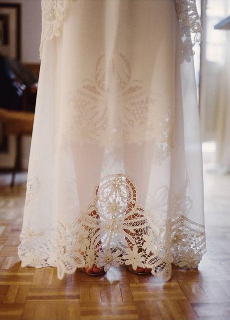 Vestido de novia - Bajos increibles - 2. Marcela Mansergas