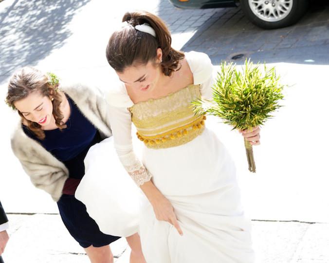 Vestido de novia - Colores y texturas - 4. Helena Mareque