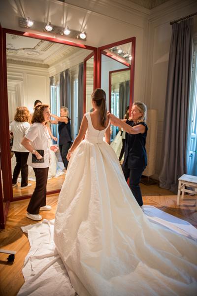 Vestido de novia - Corse y falda XL - 3. Navascues