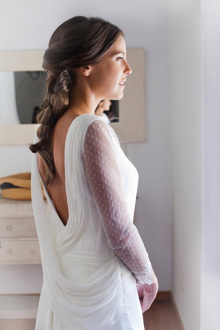 Vestido de novia - Drapeados - 3. Isabel Nuñez