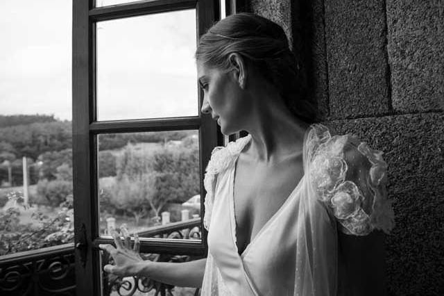 Vestido de novia - Mangas espectaculares - 2. Masscob