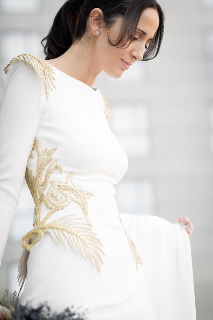 Vestido de novia - Maravillosos detalles - 2. Roberto Diz