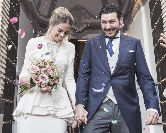 Vestido de novia - Peplum - 4. Fernando Claro