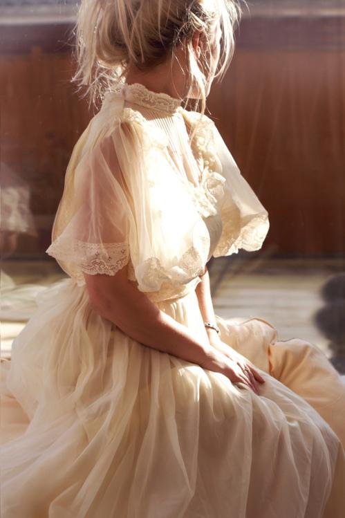 Vestido de novia - Vintage, inspiración s.XIX - 3. Novia